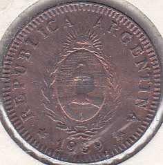 Argentina 2 Centavos 1939