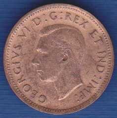 Canada 1 Cent 1939