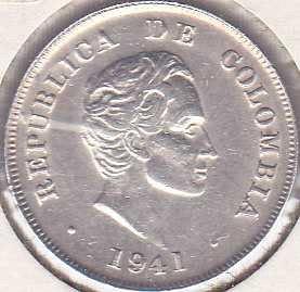 Colombia 20 Centavos 1941