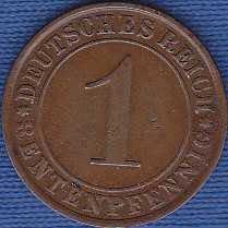 Germany 1 Rentenpfennig 1924A