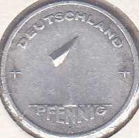 Germany 1 Pfennig 1949A