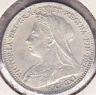 Great Britain 3 Pence 1896