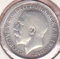 Great Britain 3 Pence 1912