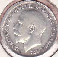Great Britain 3 Pence 1912
