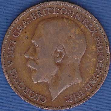 Great Britain 1 Penny 1921