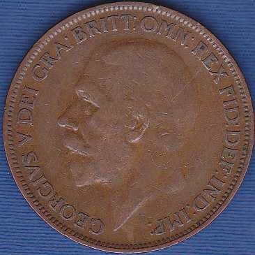 Great Britain 1 Penny 1927