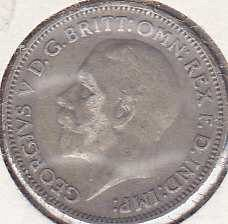 Great Britain 6 Pence 1933