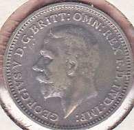 Great Britain 3 Pence 1934