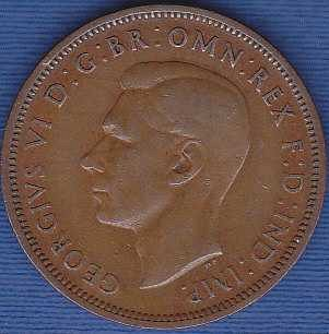 Great Britain 1/2 Penny 1938
