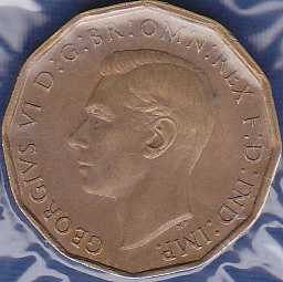 Great Britain 3 Pence 1944