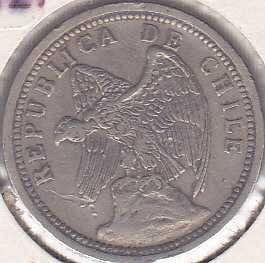 Chile 20 Centavos 1932