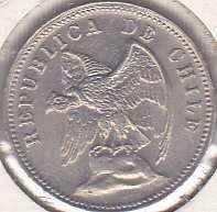 Chile 5 Centavos 1938