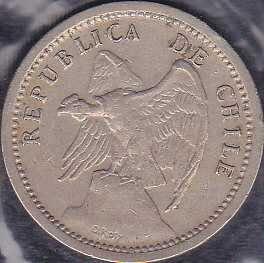 Chile 20 Centavos 1940