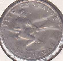 Philippines 5 Centavos 1941