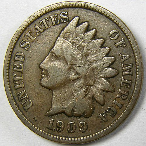 1909 P Indian Head Cent #3