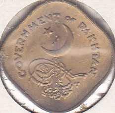 Pakistan 1/2 Anna 1955