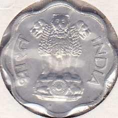India 2 Paise 1965B