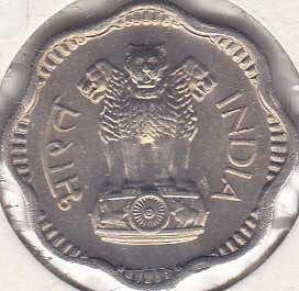India 10 Naye Paise 1962B