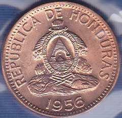 Honduras 2 Centavos 1956