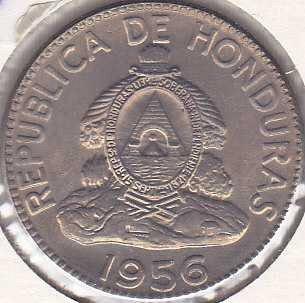 Honduras 10 Centavos 1956