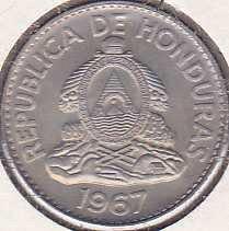 Honduras 20 Centavos 1967