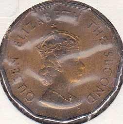 Jersey 1/4 Shilling 1966