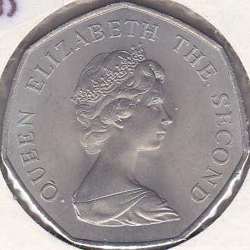Jersey 50 New Pence 1969