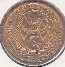 Algeria 10  Centimes 1964