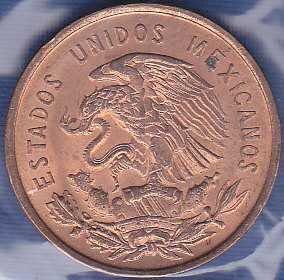 Mexico 10 Centavos 1966