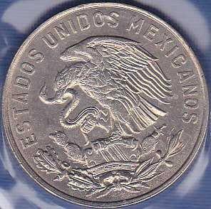 Mexico 50 Centavos 1964