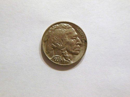 1936-P MS Buffalo Nickel