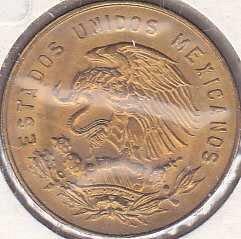 Mexico 5 Centavos 1969