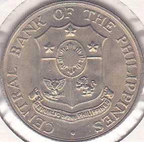 Philippines 25 Centavos 1966