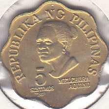 Philippines 5 Sentimos 1979