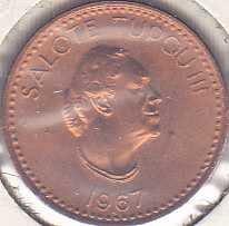 Tonga 1 Seniti 1967