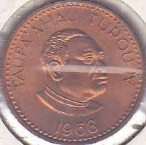 Tonga 1 Seniti 1968