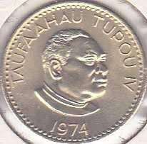 Tonga 1 Seniti 1974
