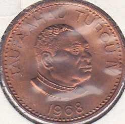 Tonga 2 Seniti 1968