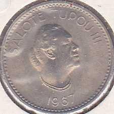 Tonga 5 Seniti 1967