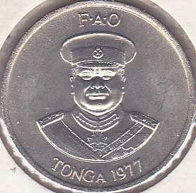 Tonga 10 Seniti 1977