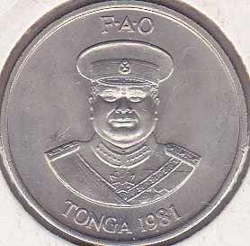 Tonga 10 Seniti 1981
