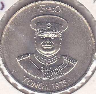 Tonga 20 Seniti 1975