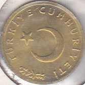 Turkey 1 Kurus 1963