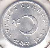 Turkey 1 Kurus 1976
