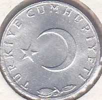 Turkey 5 Kurus 1975