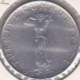 Turkey 25 Kurus 1962