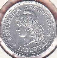 Argentina 1 Centavo 1974
