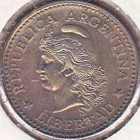 Argentina 5 Centavos 1958