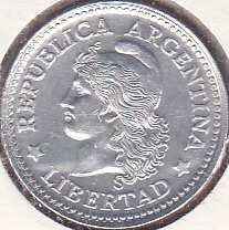 Argentina 5 Centavos 1973