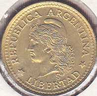 Argentina 10 Centavos 1974